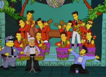 Tito Puente en Los Simpsons