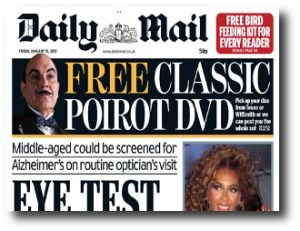 3. Daily Mail