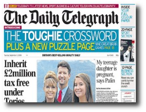 7. The Daily Telegraph