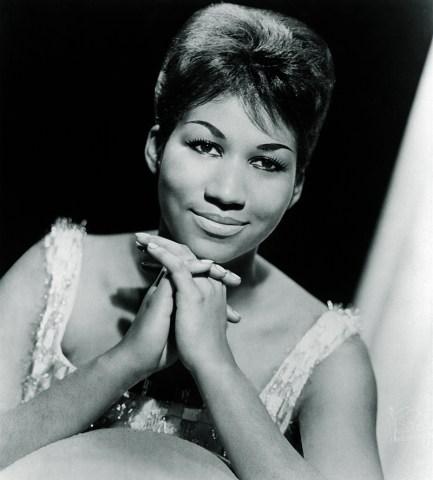 ARETHA FRANKLIN, 1964, Columbia Records publicity portrait. CSU/Everett Collection.