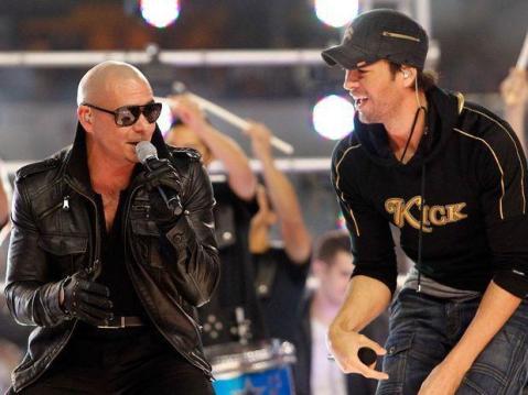 Pitbull con Enrique Iglesias