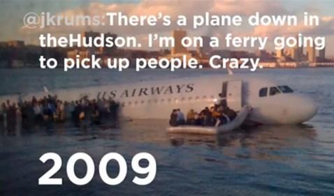 Tuits del vuelo 1549