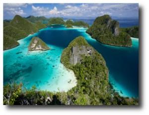 5. Arrecife de Raja Ampat, Indonesia