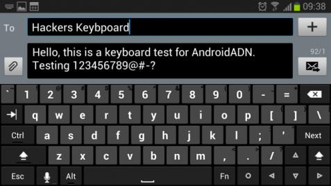 Hackers keyboard