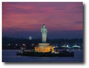 10. Estatua del Buda de Hyderabad