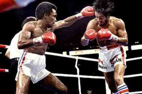 Roberto Duran vs.Sugar Ray Leonard