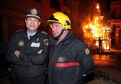 Policía bombero