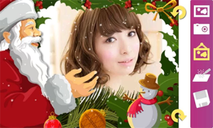 2. Christmas Photo Frames