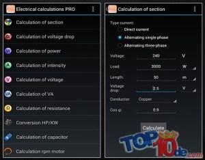 Las 10 aplicaciones Android para electricistas