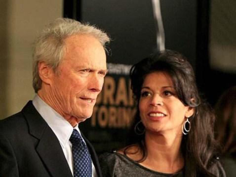 Clint y Dina Eastwood