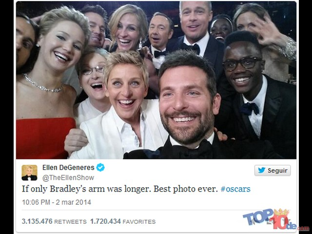 Las 10 cosas más retuiteadas en la historia
