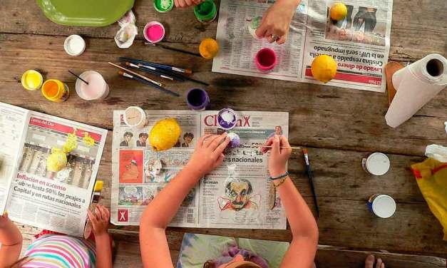14 divertidos, fáciles y rapidos dibujos para hacer con niños de todas las edades faciles