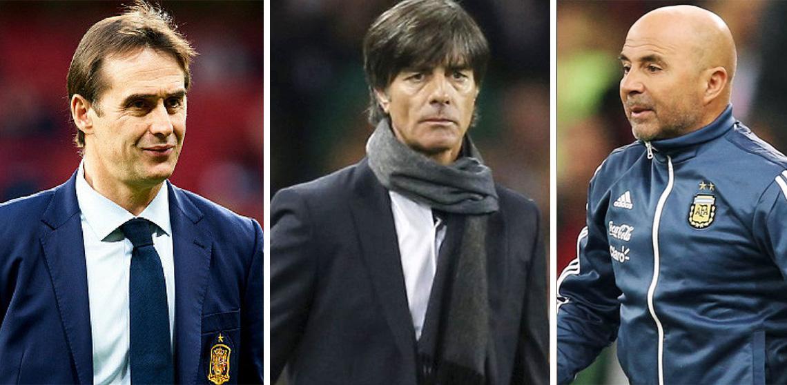 Top 10 entrenadores del Mundial Rusia 2018