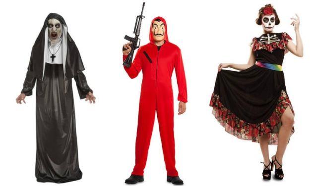 28 Trajes sencillos que usted puede hacer un dia antes de Halloween