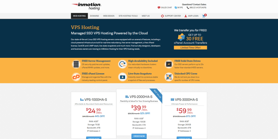 Inmotion-hosting-serveurs