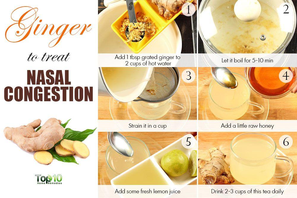 Lemon Ginger Cough Honey
