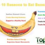 top 10 health benefits of bananas top 10 home remediesbanana benefits