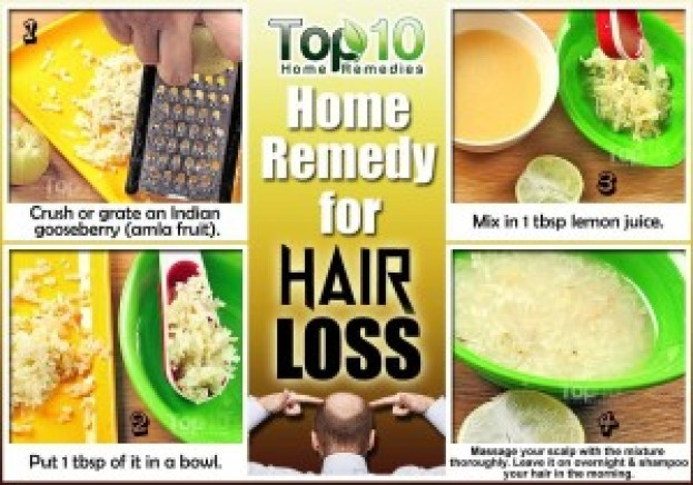hair loss home remedy using amla or indian gooseberry