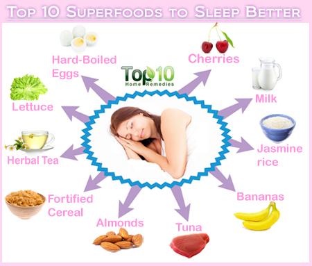 sleep superfoods