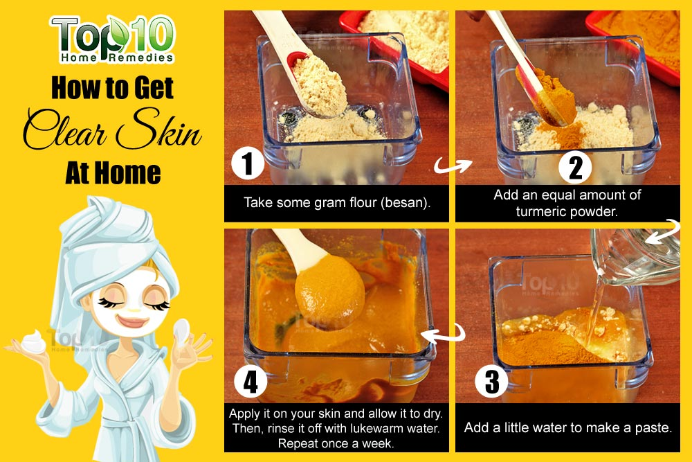 How To Get Clear Skin At Home Top 10 Home Remedies