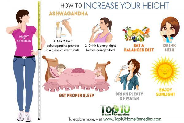 How To Increase Your Height Top 10 Home Remedies