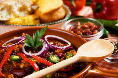 mexican chili con beans