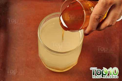 DIY ginger tea step8