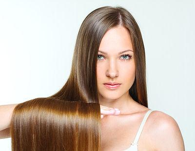 healthy shiny hair