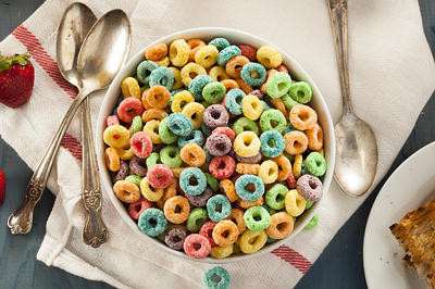 unhealthy breakfast cereal