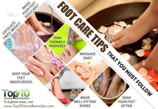 10 foot care tips you must follow