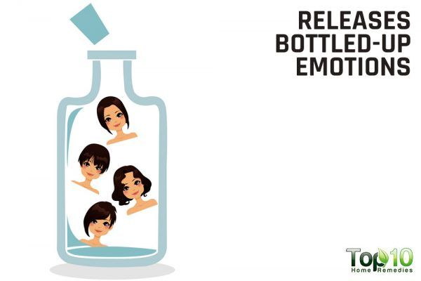 releases bottled up emotions