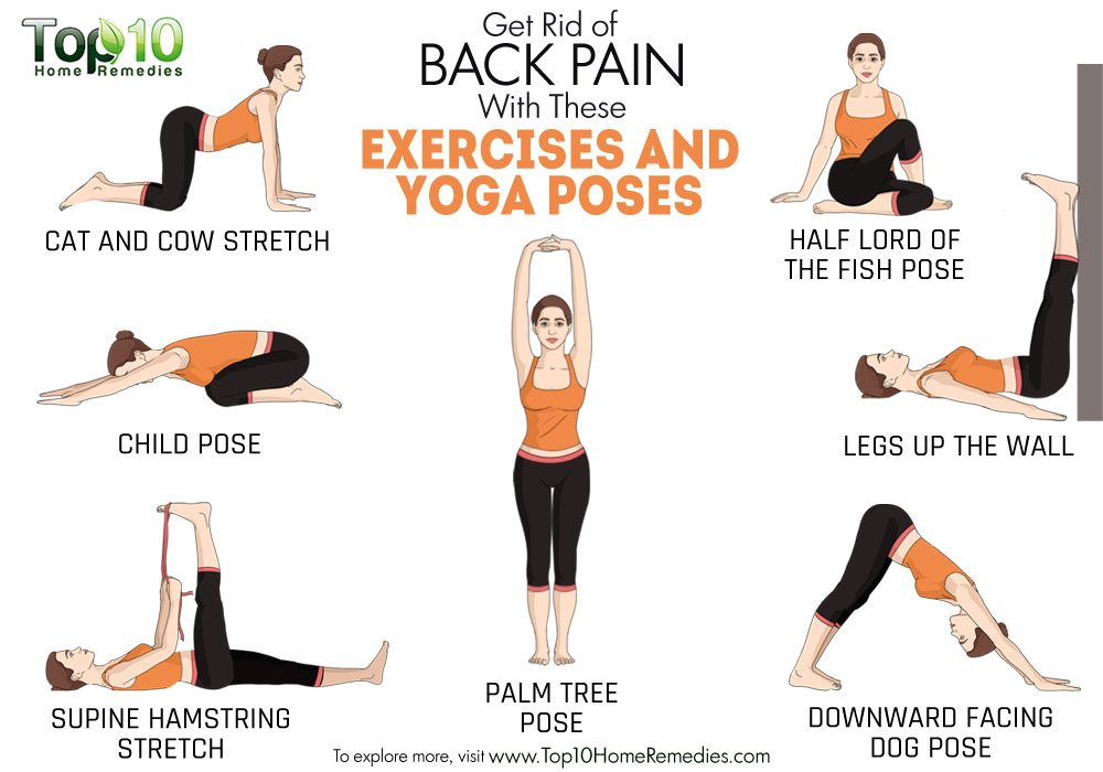 Image result for get rid of back pain with yoga