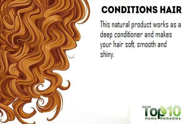 yogurt conditions your hair