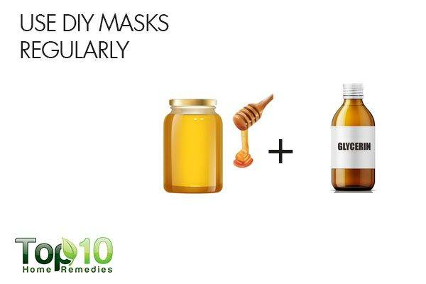 use DIY lip masks regularly