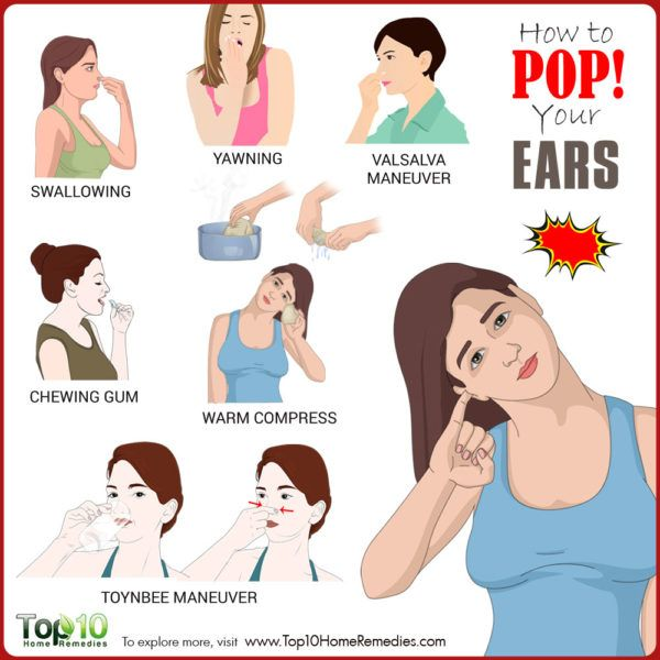How to Pop Your Ears | Top 10 Home Remedies
