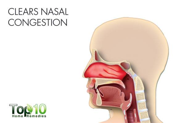 Use camphor to clear nasal congestion when suffering from a blocked nose
