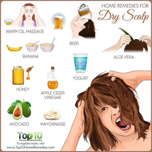 DIY home remedies for dry scalp