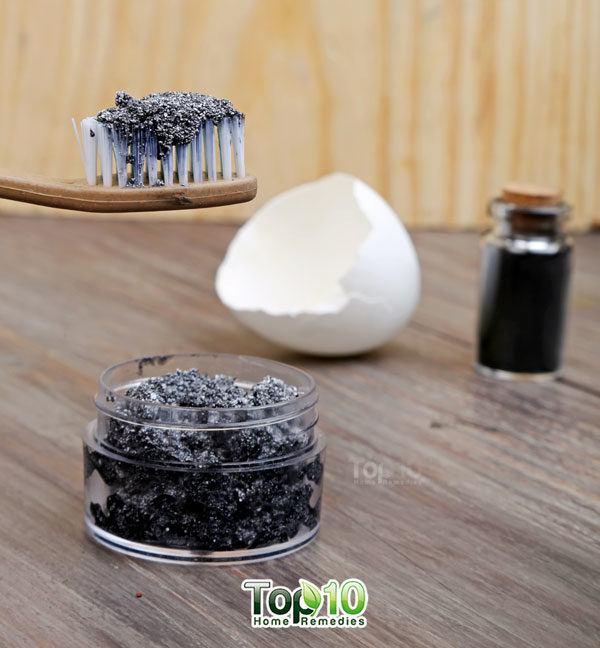 dentifrice au charbon actif maison
