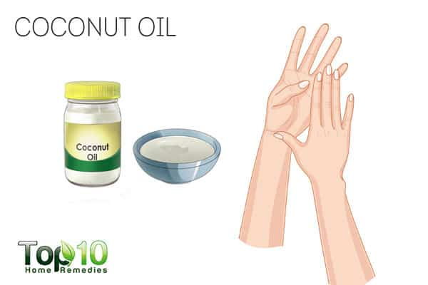 Use coconut oil for nail psoriasis