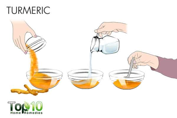 turmeric for ringworm of the scalp