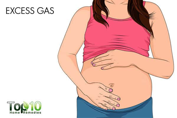 excess gas during pregnancy