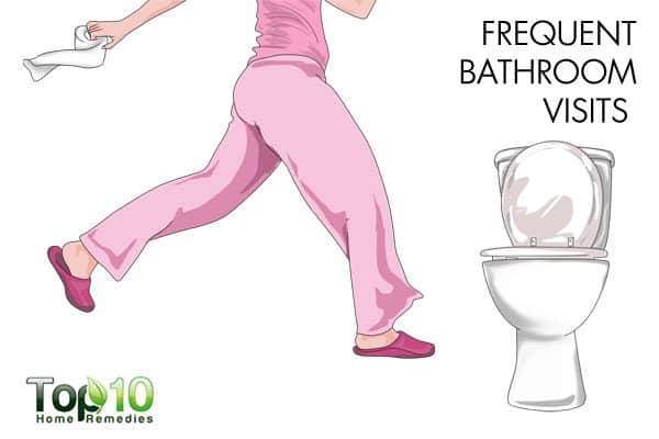frequent bathroom visits during pregnancy