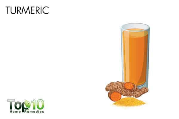 turmeric to heal allergies