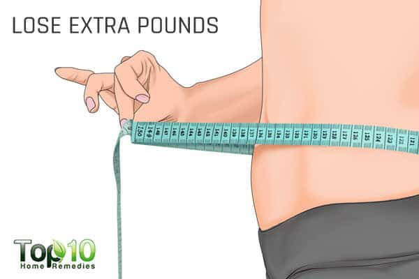 lose extra pounds to control high blood pressure