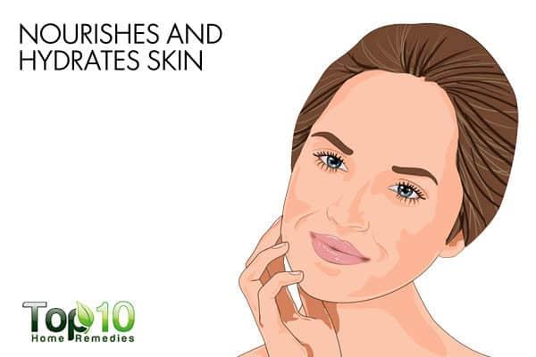 eggs hydrate the skin