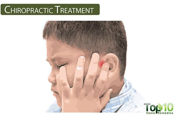 chiropractic treatment for ear pain in children