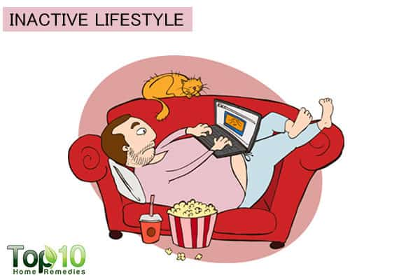 sedentary lifestyle increases blood pressure risk
