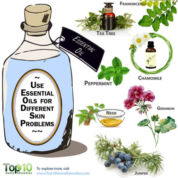 use essential oils for skin problems