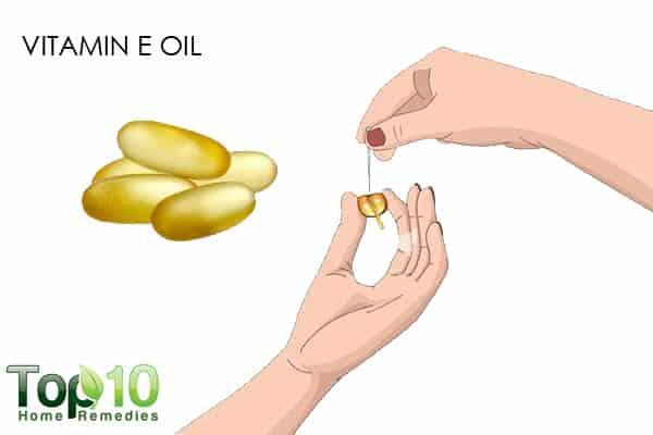 vitamin E oil for dry nose