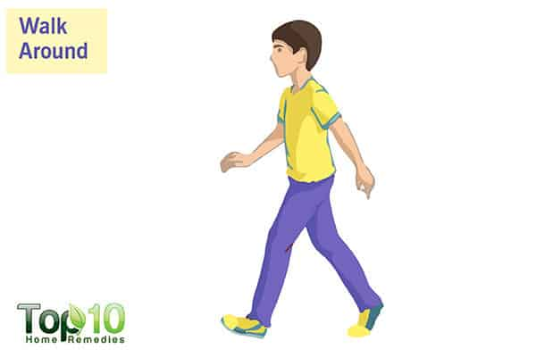 walk daily to control diabetes